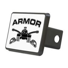 Armor Branch Insignia (BW) Hitch Cover