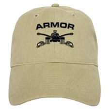 Armor Branch Insignia (BW) Baseball Cap