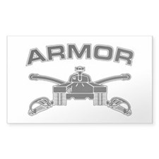 Armor Branch Insignia (BW) Decal