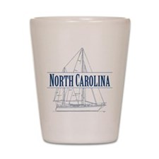 North Carolina - Shot Glass