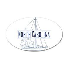 North Carolina - Wall Decal