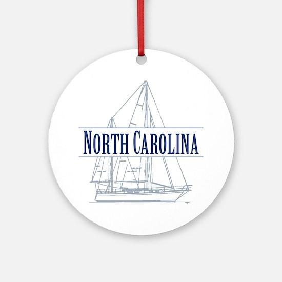 North Carolina - Ornament (Round)