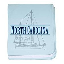 North Carolina - baby blanket