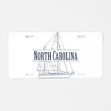 North Carolina - Aluminum License Plate