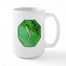 Green Lizard Mug