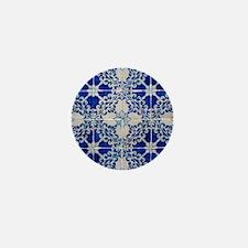 Portuguese Azulejos Mini Button
