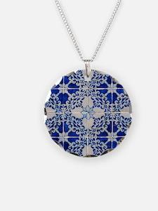 Portuguese Azulejos Necklace