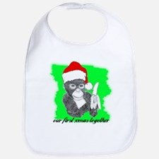 OUR FIRST XMAS TOGETHER Bib