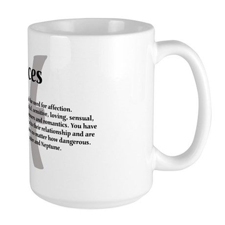 Pisces Coffee Mug / Cup 15oz
