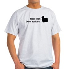 Real Men Own Yorkies T-Shirt