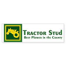 JD Tractor Stud Bumper Bumper Sticker