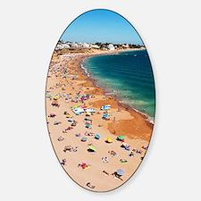 Albufeira beach Sticker (Oval)