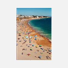 Albufeira beach Rectangle Magnet
