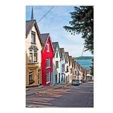Cobh houses Postcards (Package of 8)