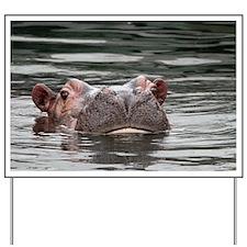 Hippo 001 Yard Sign