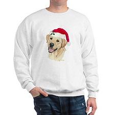 Yellow Labrador Christmas Sweatshirt