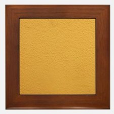 Yellow wall Framed Tile