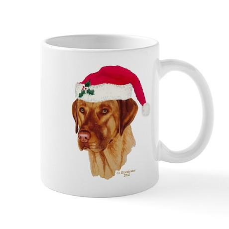 Fox Red Labrador Christmas Mug