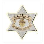 San Bernardino Sheriff Anniversary Badge Square Ca