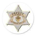 San Bernardino Sheriff Anniversary Badge Round Car