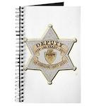 San Bernardino Sheriff Anniversary Badge Journal