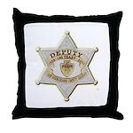 San Bernardino Sheriff Anniversary Badge Throw Pil
