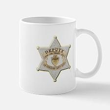 San Bernardino Sheriff Anniversary Badge Mugs