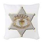 San Bernardino Sheriff Anniversary Badge Woven Thr