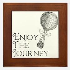 Enjoy the Journey Framed Tile
