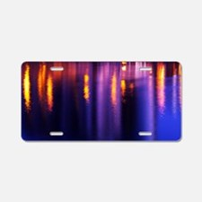 River reflection Aluminum License Plate