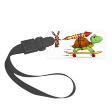 Rocket Propelled Tortise Beats t Luggage Tag