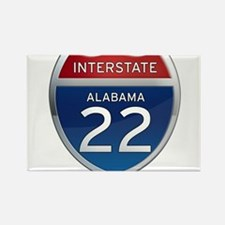 Alabama Interstate 22 Magnets