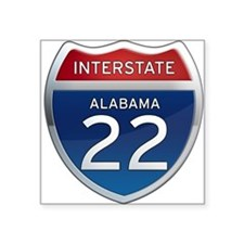 Alabama Interstate 22 Sticker