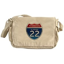 Alabama Interstate 22 Messenger Bag