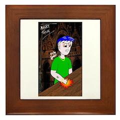 Angry Thug #2 Framed Tile