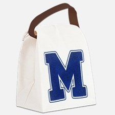 "Varsity ""M"" Canvas Lunch Bag"