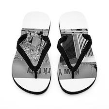 Twin Towers WTC New York City Flip Flops