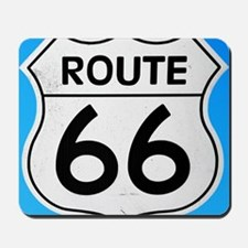 Route 66 sign Mousepad