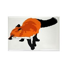 Sly Fox Rectangle Magnet