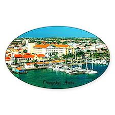 Orenjestad Aruba Decal
