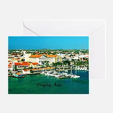 Orenjestad Aruba Greeting Card