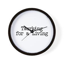 Twerking for a Living Wall Clock
