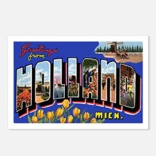 Holland Michigan Greetings Postcards (Package of 8