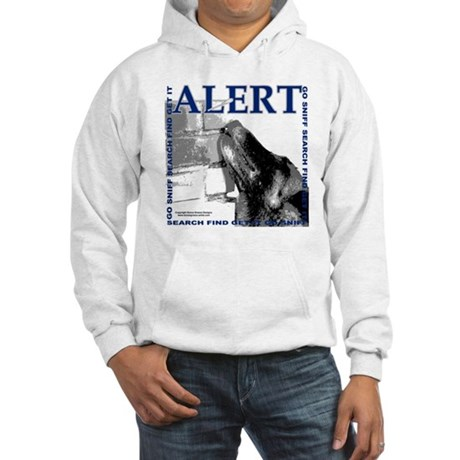 Belgian Malinois Alert Nose work Hooded Sweatshirt