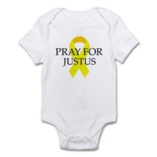 Pray for Justus Infant Bodysuit