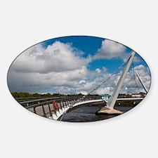 Peace Bridge Decal