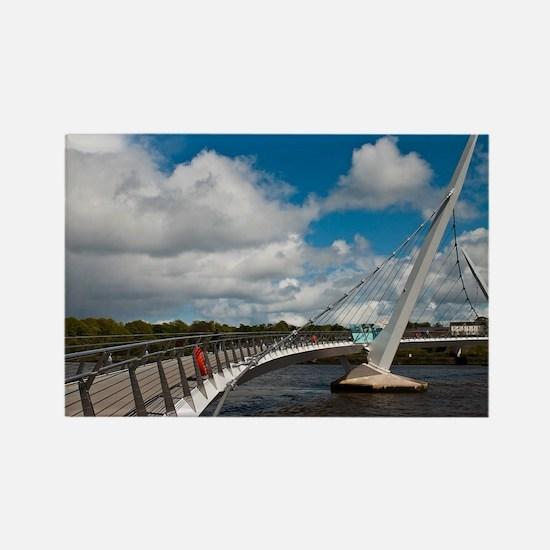 Peace Bridge Rectangle Magnet
