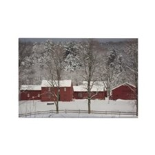 Scenic in the Snow Rectangle Magnet (10 pack)