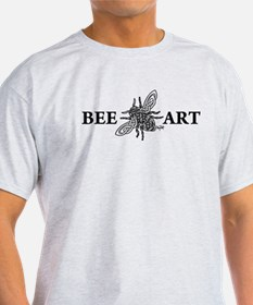 Bee Art Celtic Bee - black lines T-Shirt