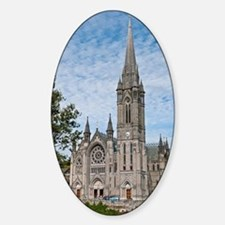 St. Colman's Cathedral Sticker (Oval)